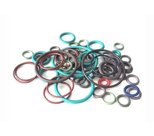 Silicone fluorine rubber seals