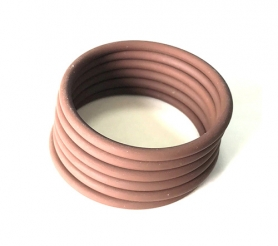 Silicone fluoro rubber O ring